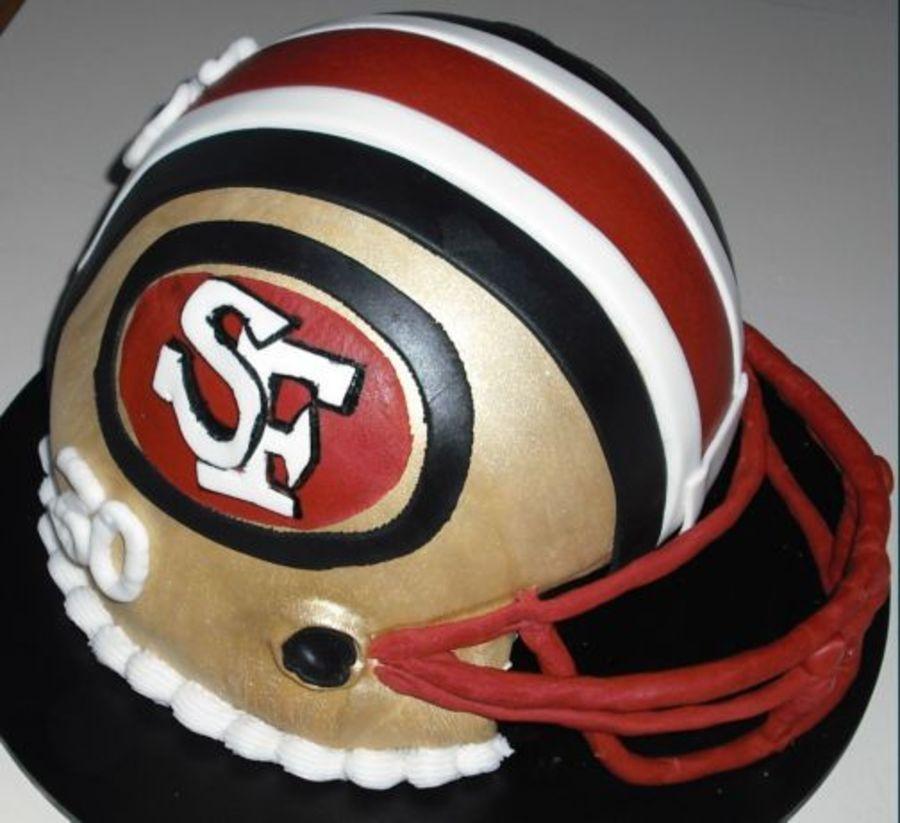 Poor logo reproduction - San Francisco 49ers wedding cake fail