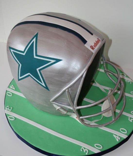 Poor Shape - Dallas Cowboys football helmet cake fail
