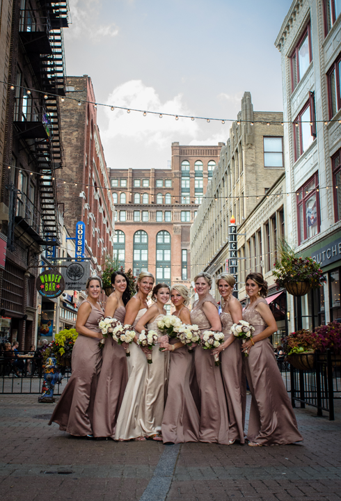 Browns Bridesmaids in Cleveland, OH