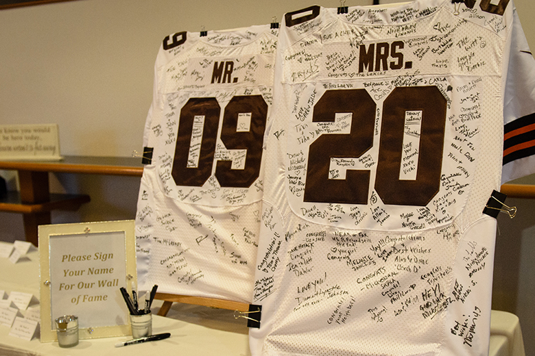 NFL Jersey Guestbook