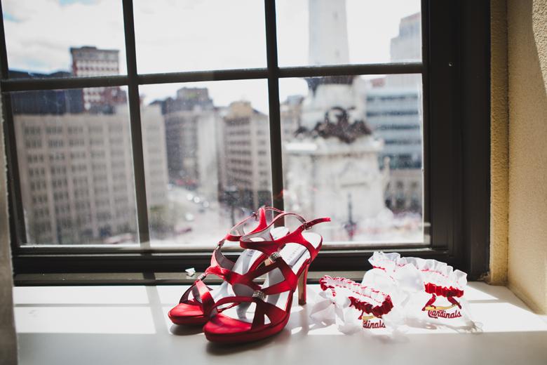 St Louis Cardinals Baseball Themed Wedding Sports