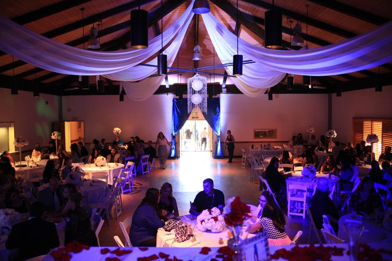 baseball wedding reception hall