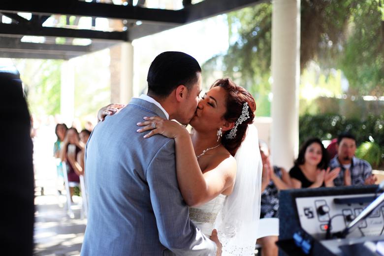 LA Dodgers fan wedding