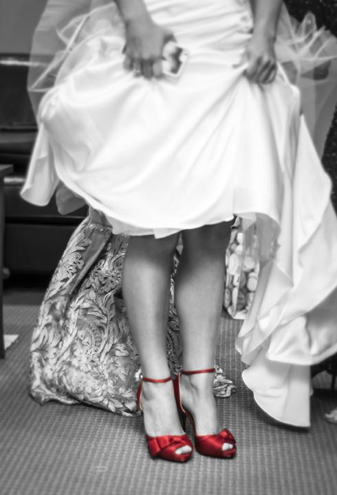 LA Angels Wedding Dress