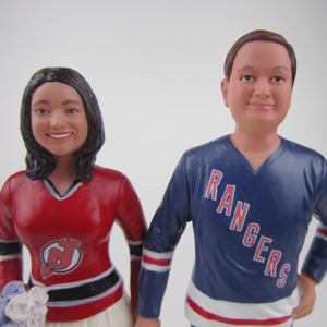 BobbleGram Wedding Cake Toppers