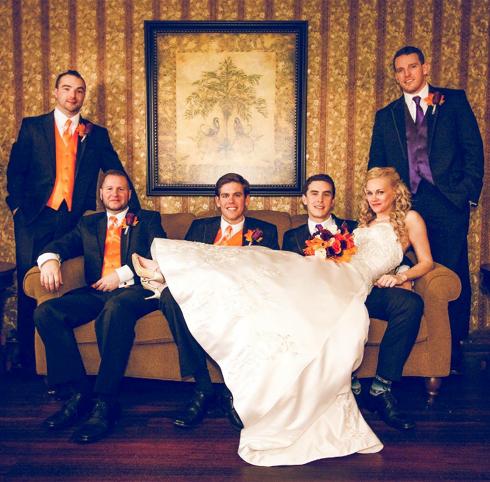 Hardiman Halloween Themed Wedding