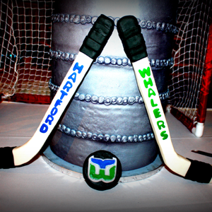 Hockey themed wedding ideas