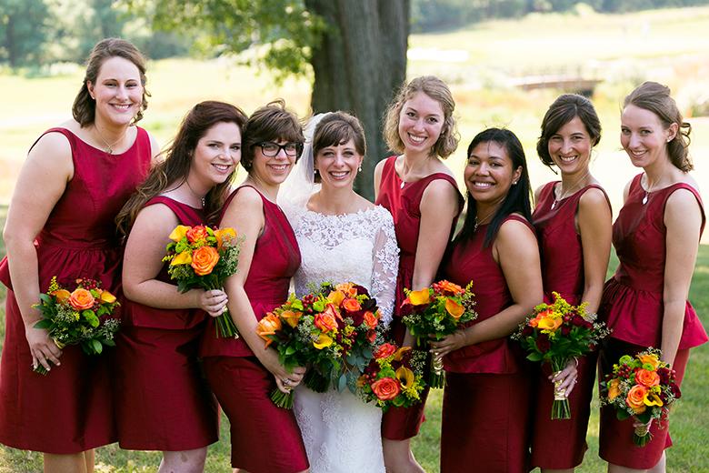 Washington Capitals Bridesmaids